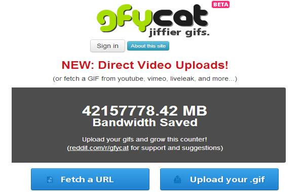 Gfycat convertir gifs en videos