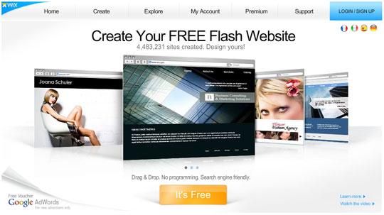 Crear p ginas web gratis con wix Crear website